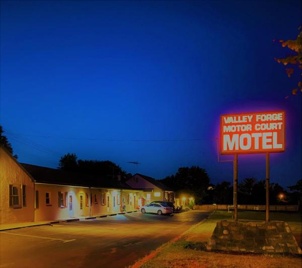 Valley Forge Motor Court Motel Wayne
