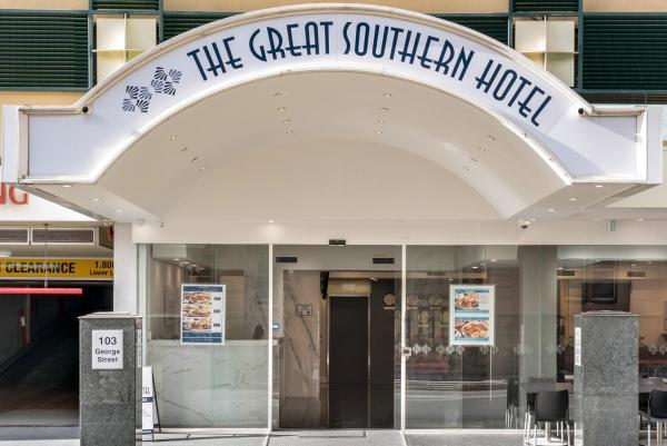 The Great Southern Hotel Brisbane Distrito central de negocios de Brisbane