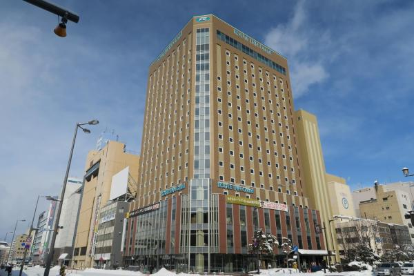 Hotel Route Inn Grand Asahikawa Ekimae Асахикава