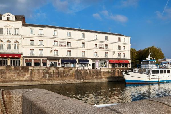 Best Western Le Cheval Blanc Онфлер