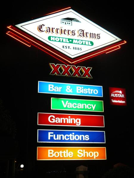 Carriers Arms Hotel Motel Maryborough