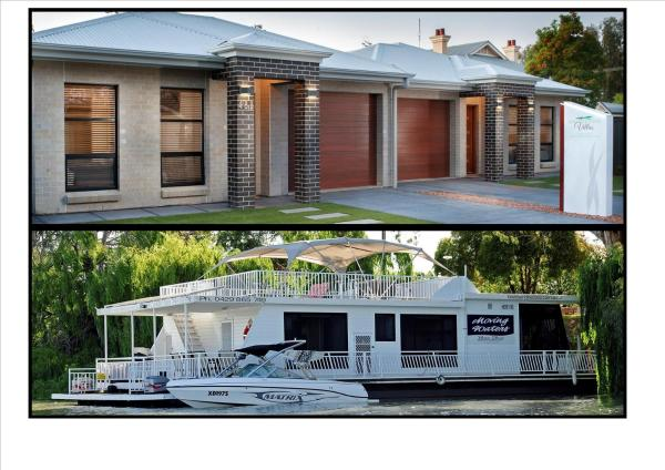 """Boats and Bedzzz"" and ""Renmark River Villas"" Renmark"