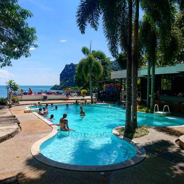 Last Bar Seaview Resort Railay Railay Beach