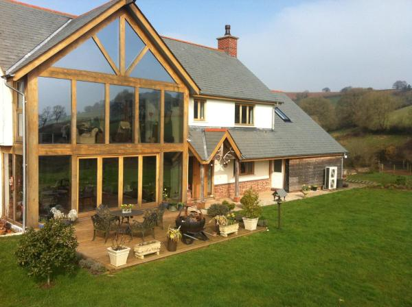 East Dunster Deer Farm B&B Тивертон
