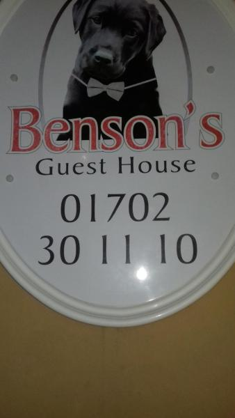 Bensons Guesthouse Southend-on-Sea