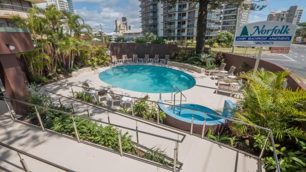 Norfolk Luxury Beachfront Apartments Gold Coast