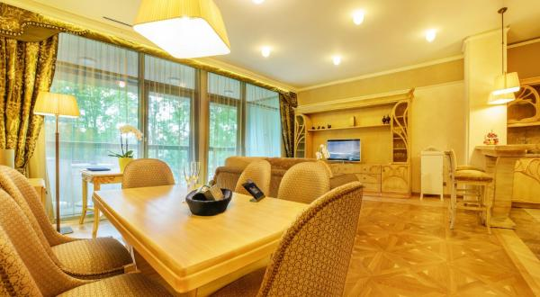 Grand SPA Lietuva Serviced Apartments Dzūkija Друскининкай