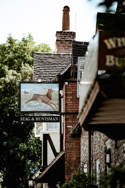 The Stag and Huntsman at Hambleden Henley on Thames