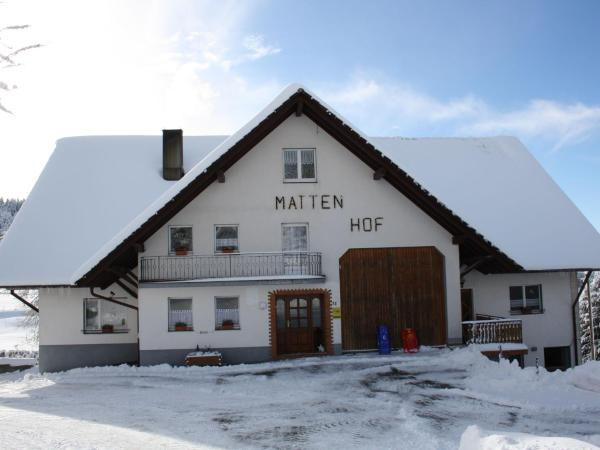 Apartment Mattenhof 1 / Holiday home Mattenhof Herrischried I
