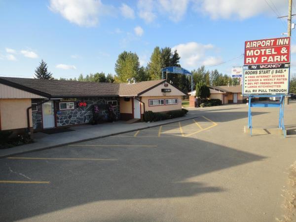 Airport Inn Motel Quesnel