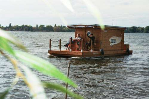 Hausboot am Plauer See Margarethenhof