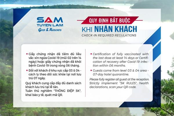 SAM Tuyen Lam Resort Da Lat