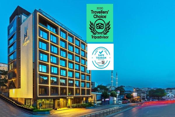 Naz City Hotel Taksim - Special Category Бейоглу
