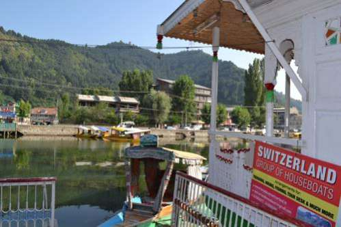 Houseboat Switzerland Front line Dal Lake