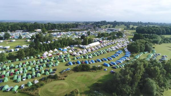 Silverstone Glamping and Pre-Pitched Camping with intentsGP Силверстон