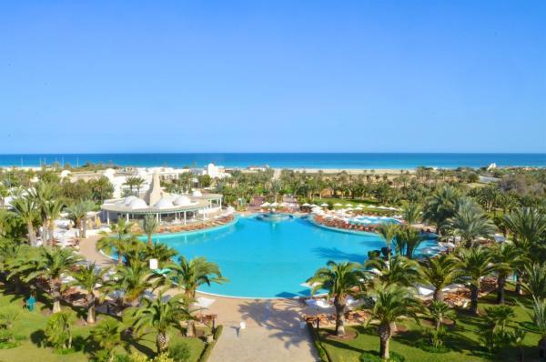hotel royal garden palace 5 тунис джерба