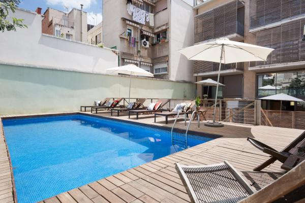 Apartment Barcelona Rentals - Gracia Pool Apartments