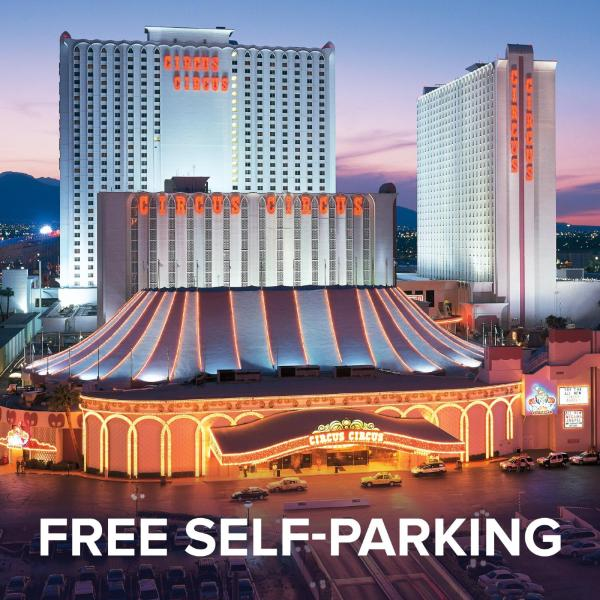 Circus Circus Hotel, Casino & Theme Park (Free Parking) Лас-Вегас-Стрип