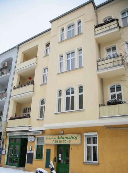 Hotel-Pension Adamshof Берлин