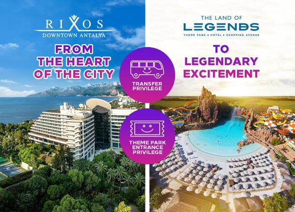 Rixos Downtown Antalya Анталья